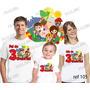 Lembrança De Aniversario Sitio Do Pica Pau Camiseta Kit 3un
