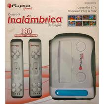 Consola Video Juegos Inalambrica Fujitel 198 Juegos
