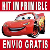 2x1 Cars 2 Kit Imprimible Invitaciones + Regalo