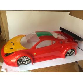 Bolha Para Inferno Gt2 Kyosho Ferrari 458 Italia Pintada 1/8