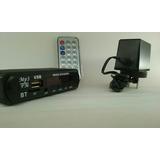 Modulo Mp3 Sd/usb/fm/aux Con Bluetooth Y Control Remoto