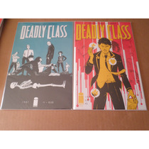 Deadly Class #1-10 Image Ingles