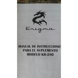 Manual De Instrucciones Modelo Kh 280
