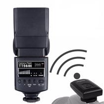 Flash Speedlite Thinklite Godox Tt 560 Ii Canon Nikon Fuji