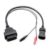 Cable Adaptador Fiat 3 Pines A Obd2 Para Delphi Autocom Dec