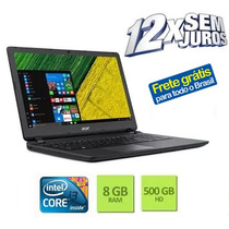 Notebook Acer Aspire Es1-572-303k Intel I3-6100u 8gb 500gb