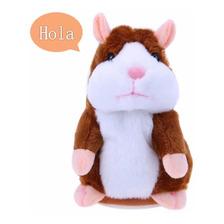 Hamster Juguete Lindo Que Habla Electronicos Marrón