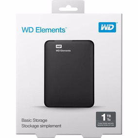 Hd Externo 1tb Western Digital Wd Pc Mac Tv Xbox One E Ps4