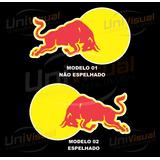 Adesivos Red Bull 23cmx13cm Para Carros Veículos Moto Touros