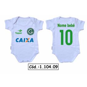Body Bebê Futebol Goiás Mesversário Frases Engraçadas Baby