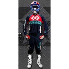 Conjunto Motocross Enduro Mx Gear 17 Adulto Solomototeam