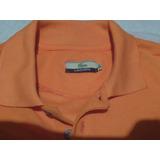 Chemise Lacoste Talla Xl Color Naranja Nueva