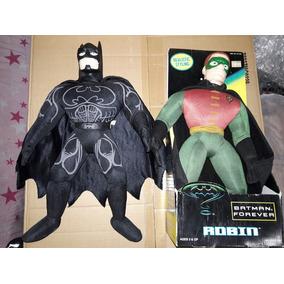 Batman Y Robin 2 Peluches De 40 Cm Batman Forever Dc