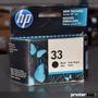 Hp 33 Original Deskjet 310 320 340 Venc 2012 - Printersup