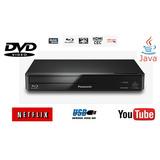 Panasonic Blu Ray Netflix Youtube Reprod Cd Dvd Jpeg Mp4/3