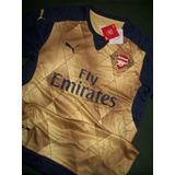 Camiseta Arsenal Dorada Alternativa