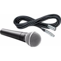 Microfono Shure Sm58+ Cable Shure De 7,5 Metros