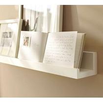 Estantes Porta Retrato Cuadros Fotos Minimalistas Laqueados
