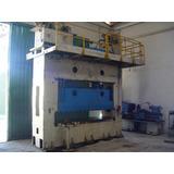 Prensa Hidrálica 200 Ton Mesa 2,6 Metros Por 90 Cm -- 50340