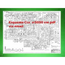 Esquema Cce Sr 5050 Sr5050 Em Pdf Via Email