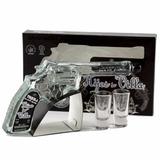 Tequila Silver Hijos De Villa Revólver Gift Pack + 2 Shot.