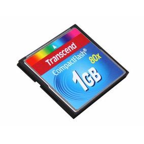 Cartão De Memoria Compact Flash 1gb Transcend (e260)
