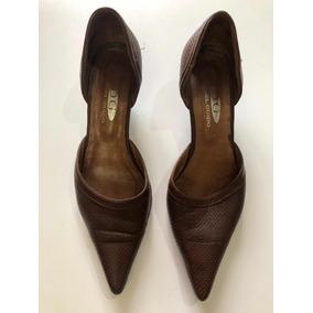 Zapatos Stilettos Cuero 100% N36 Impecables!!!