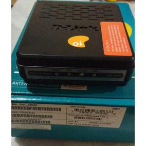 Modem Roteador Oi Dsl 2500e Adsl2 D-link