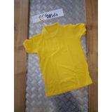 Chemis Escolar Amarillo Caterpilla O Amarillo Oro T-8 . Mela