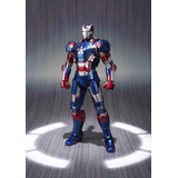 Figura Coleccionable Iron Patriot Iron Man 3 Marvel Bandai