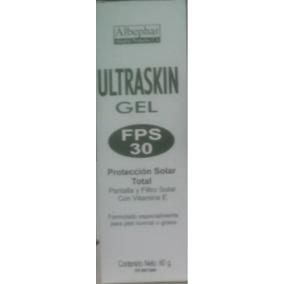 Protector Solar Ultraskin Crema Gel Blocksol Tono Claro 60 G
