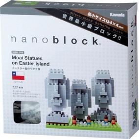 Nanoblock Estatuas Moai Chile Rompecabezas 3d Tienda Oficial