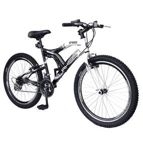 Bicicleta Lahsen Discovery 2400 Mtb Aro 24 Color Negro