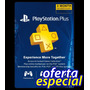Tarjeta Playstation Psn Plus 3 Meses Usa - Ps4 Ps3 Ps Vita