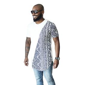 Camiseta Oversized Longline Swag Camisa Masculina Blusa