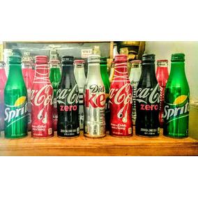 4 Botellas De Aluminio - Coca Cola - Limit Edi - Made In Usa