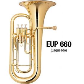 Euphonium Eagle Sib Eup660 Laqueado (bombardino) 3 Pistos