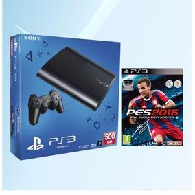 Rosario Consola Sony Play Station 3 500gb + Pes 2015 Ps3
