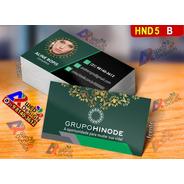 Cartão De Visita Grupo Hinode Couchê 250g 1.000 Unid