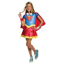 Disfraz Niñas De Supergirl Dc Superhero Girls Super Chica