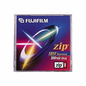 Zip 100 Disk Fujifilm Nuevos Con Celofan Cerrado