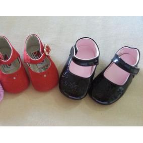 Zapatos Niña (bebe) Patentes Y Pocholin