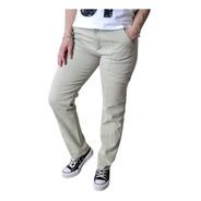 Pantalon Cargo Elastizado Mujer The Big Shop