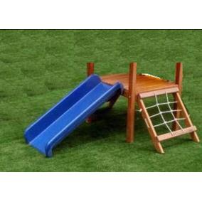 Escorregador 1,0 Metro Para Playground Ou Piscina De Bolinha