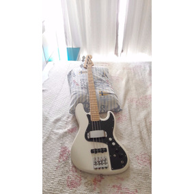 Contra Baixo Fender Jazz Bass Marcus Miller 4c 18v White Oli