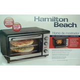 Horno Convección Electrico Hamilton Beach Mod 31108 Nuevo/s!