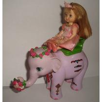 Elefante Tika Barbie Princesa Da Ilha Kelly