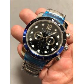 324b698b403fb Relógio Bulgária - Relógio Bvlgari Masculino no Mercado Livre Brasil