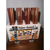 Lapices Faber Castell En Su Expositor Completo Antiguedad