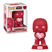 Chewbacca San Valentín Funko Pop Star Wars Corazón